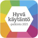 Hyvä käytäntö -kilpailun logo